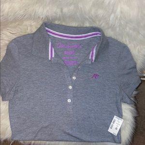 NWT Aeropostale short sleeve collar shirt